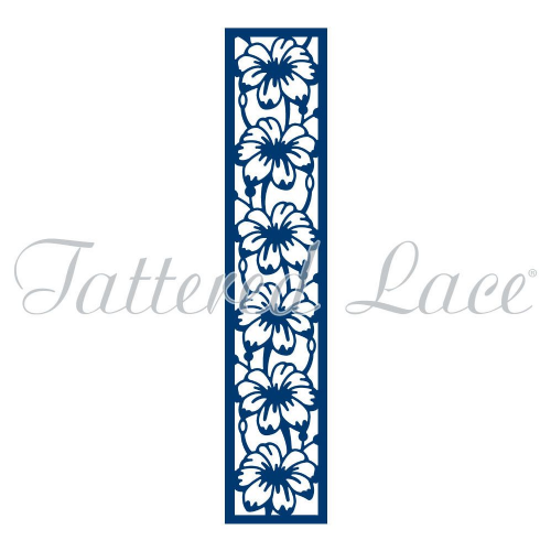Tattered Lace Dies - Love Is In The Air Collection - Flower Panel - TLD0098 - By Stephanie Weightman